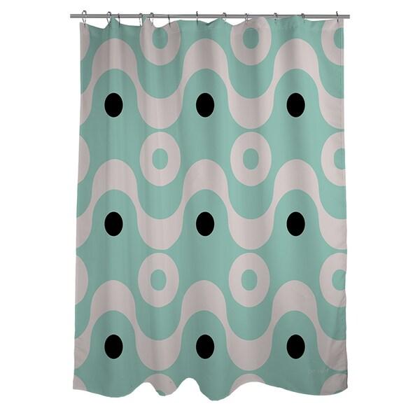 Fifties Patterns II Shower Curtain