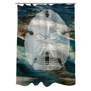 Thumbprintz Coastal Span II Shower Curtain