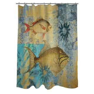 Caribbean Cove V Shower Curtain