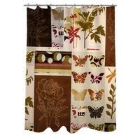 Botanical Collage Shower Curtain