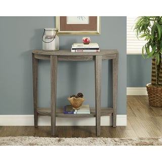 Dark Taupe Reclaimed-look Console Accent Table
