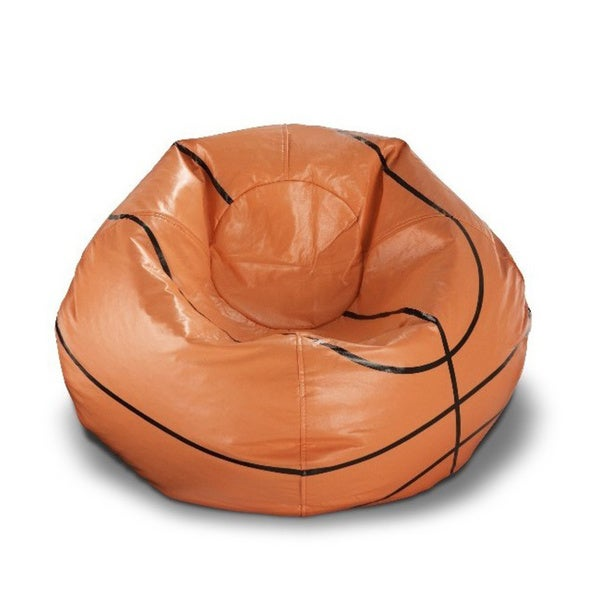 Ace Casual 96 Inch Vinyl Sports Bean Bag Chair