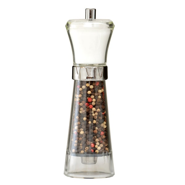 Acrylic Salt Shaker And Pepper Grinder Combo Free