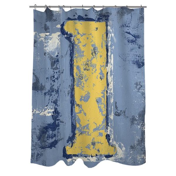 Vintage Number 1 Shower Curtain