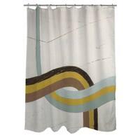 Tangle IX Shower Curtain