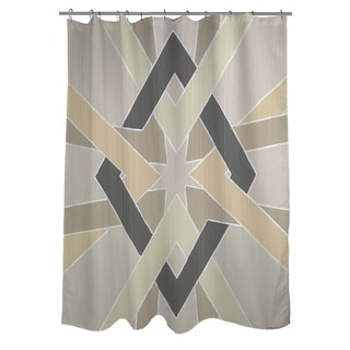 Non Embellished Deco Stitch III Shower Curtain