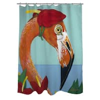 You Silly Bird Norma Shower Curtain