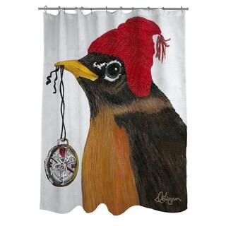 You Silly Bird Grafton Shower Curtain