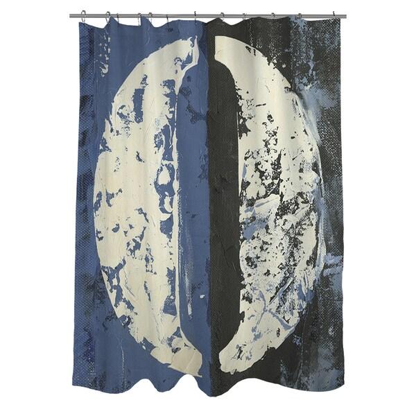Vintage Number 0 Shower Curtain