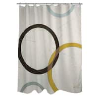 Tangle IV Shower Curtain