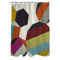 PolyRhythmic II Shower Curtain