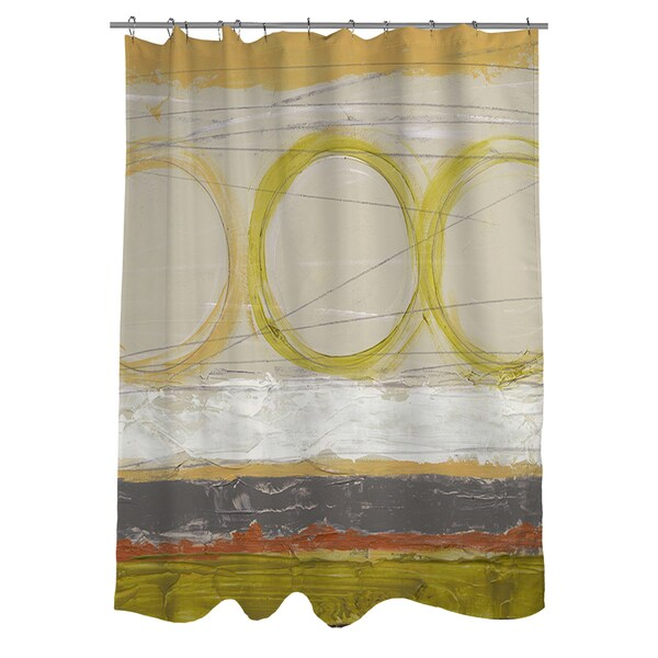 Tangent I Shower Curtain