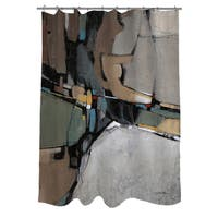 Conjunction III Shower Curtain