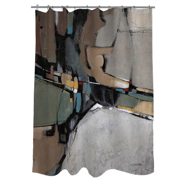 Conjunction III Shower Curtain