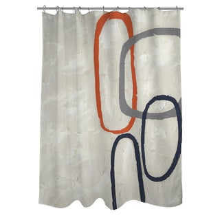 Capacity I Shower Curtain