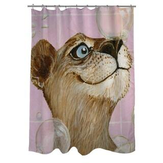 Thumbprintz Bubbles Ann Shower Curtain