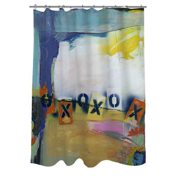 Besame Mucho II Shower Curtain