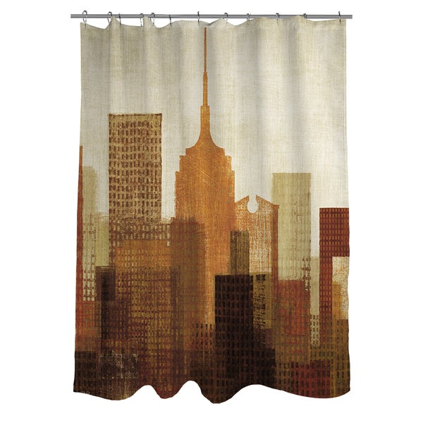 Summer in the City I Shower Curtain