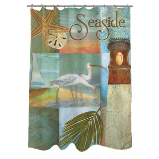 Thumbprintz Beach Memories A Shower Curtain
