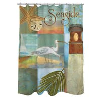 Beach Memories A Shower Curtain