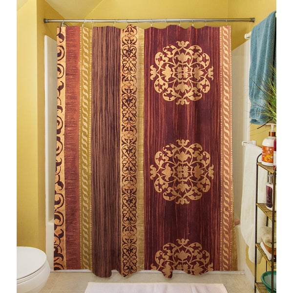 Victorian II Shower Curtain   Free Shipping Today   Overstock.com   16553698