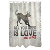All You Need Shower Curtain