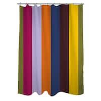 Hypnotic Stripes I Shower Curtain
