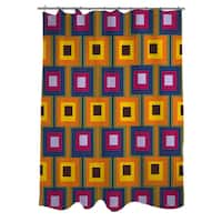 Hypnotic Square I Shower Curtain