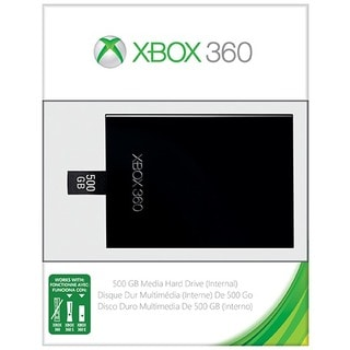Microsoft - 500GB Media Hard Drive for Xbox 360