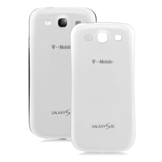 Samsung White Galaxy S3 III T999 OEM Original Standard Battery Door in Bulk Packaging