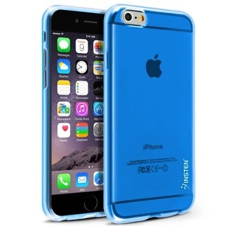 INSTEN Clear Slim Frosted TPU Gel Rubber Phone Case Cover for Apple iPhone 6 4.7-inch