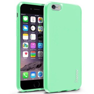 Insten Jelly Dust Proof TPU Gel Rubber Slim Phone Case for Apple iPhone 6/ 6S