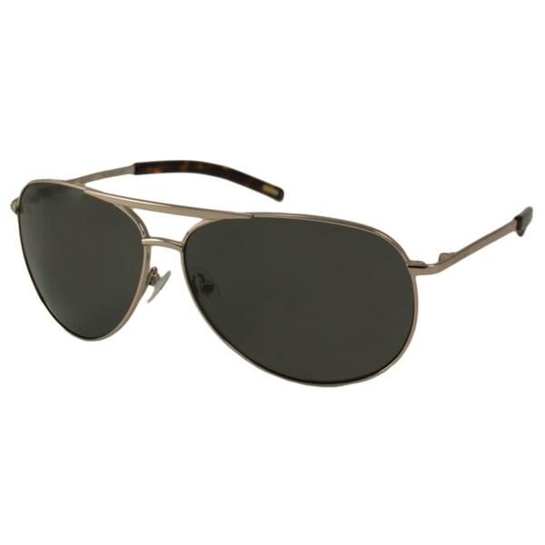 d1ab5a54ffc7 Shop Gant Men's 'GS Moresby Polarized' Aviator Sunglasses - Free ...