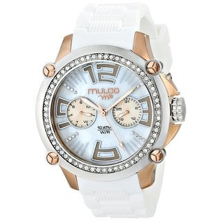 Mulco Women's Rose gold plated steel Watch