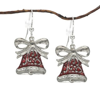 Jewelry by Dawn Red Bell Holiday Earrings