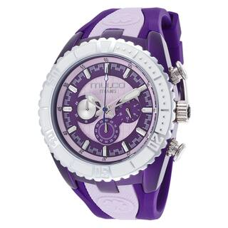 Mulco Men's 'Titans' Stainless Steel Purple Silicone Watch|https://ak1.ostkcdn.com/images/products/9362027/P16554192.jpg?impolicy=medium
