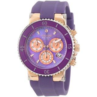 Mulco Women's 'Bluemarine' gold plated steel Watch