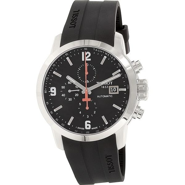1c77806d466 Shop Tissot Men s T0554271705700 PRC 200 Automatic Watch - Free ...