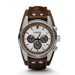 Fossil Men's CH2565 Decker Brown Leather Strap Watch