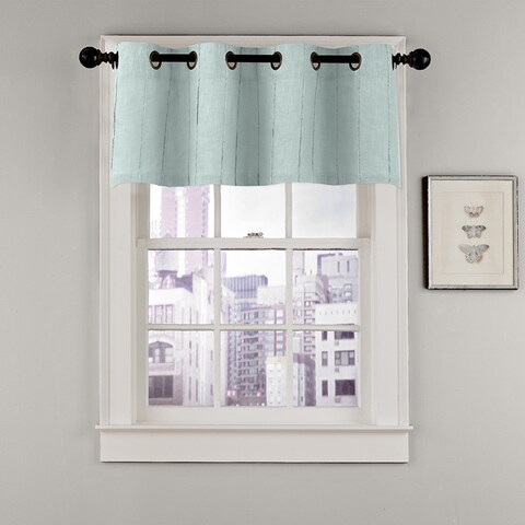 Grand Luxe Madison Grommet Top Window Valance