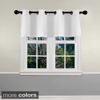 Grand Luxe Payton Grommet Window Valance