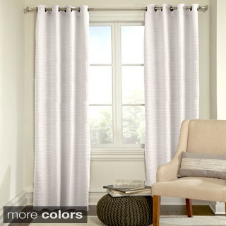 Grand Luxe Payton Grommet Top Curtain Panel