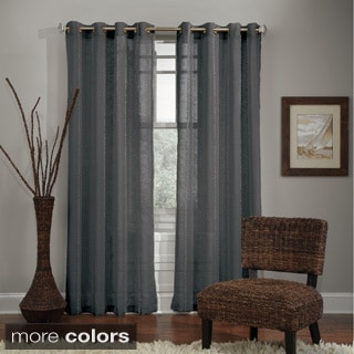 Grand Luxe Allegra Grommet Top Curtain Panel