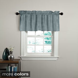 Grand Luxe Velvet Luxury Tailored Window Valance