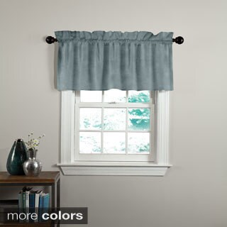 Grand Luxe Cotton Velvet Luxury Tailored Window Valance