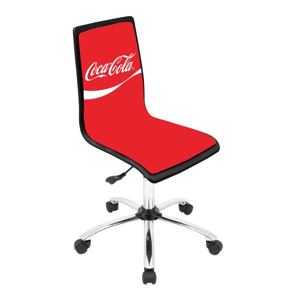 Coca-Cola Printed Office Chair