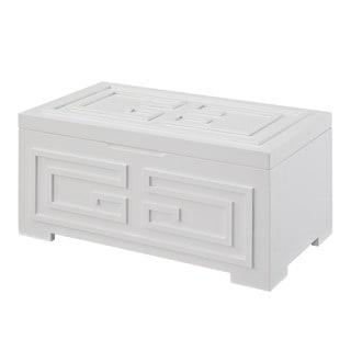 Powell Enya White Jewelry Box