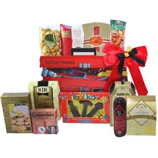 Handyman's Toolbox of Treats Gourmet Snacks Gift Basket