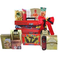 Handyman's Toolbox of Treats Gourmet Snacks Gift Basket