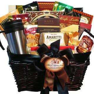 Coffee Connoisseur Gourmet Food Gift Basket|https://ak1.ostkcdn.com/images/products/9362219/P16554308.jpg?impolicy=medium